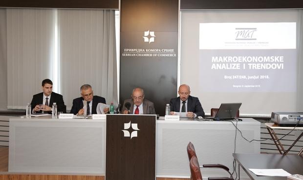 Rast srpske privrede do jedan odsto BDP