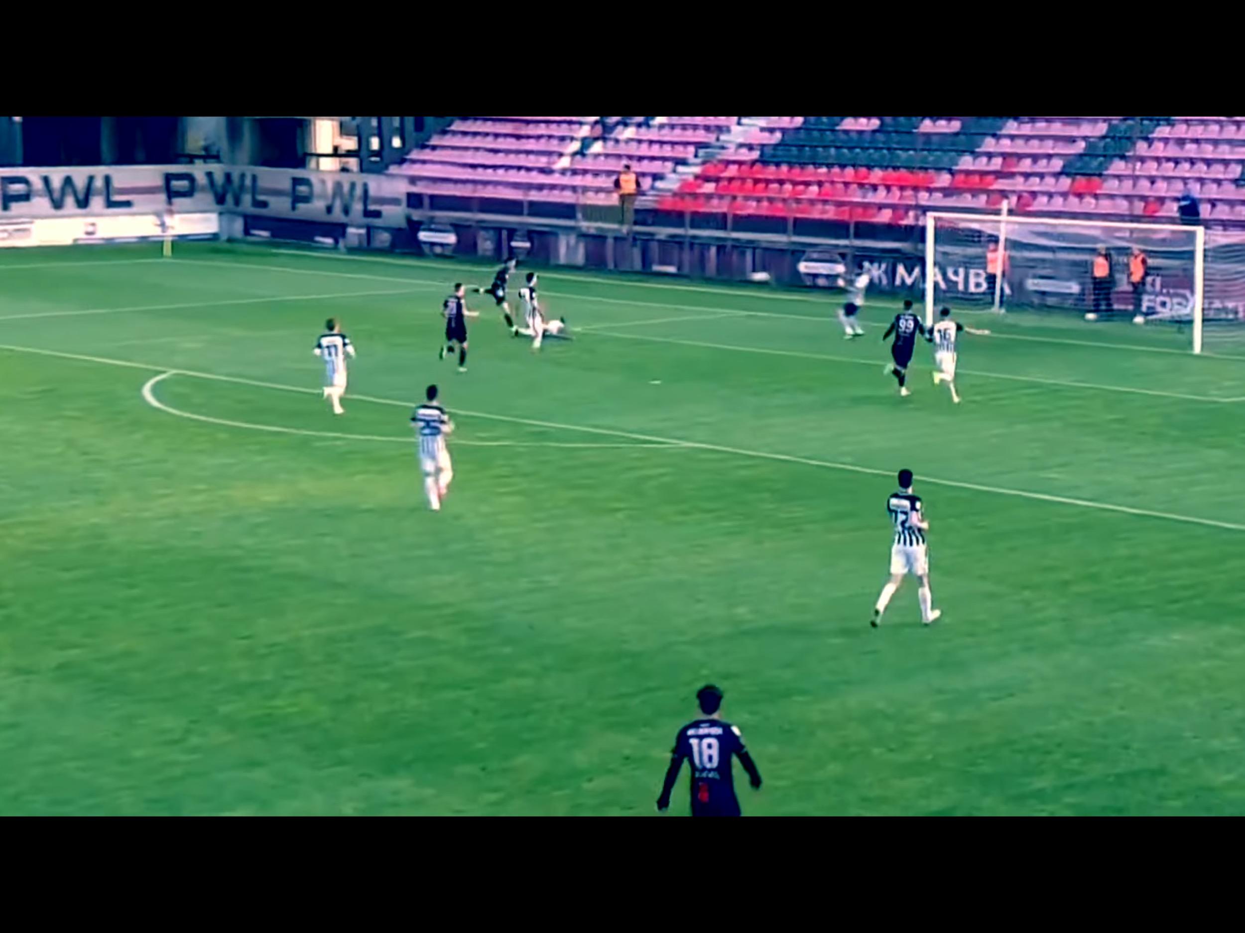 TV Izveštaj: Mačva-Partizan 1:2. Rutinska pobeda Partizana nad spektakularnim golmanom Gordićem… (VIDEO)