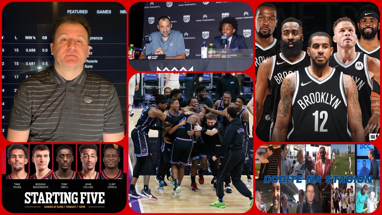 NBA Specijal: Rapsodija Sakramenta, povratak Bogdana i nova era NBA super timova