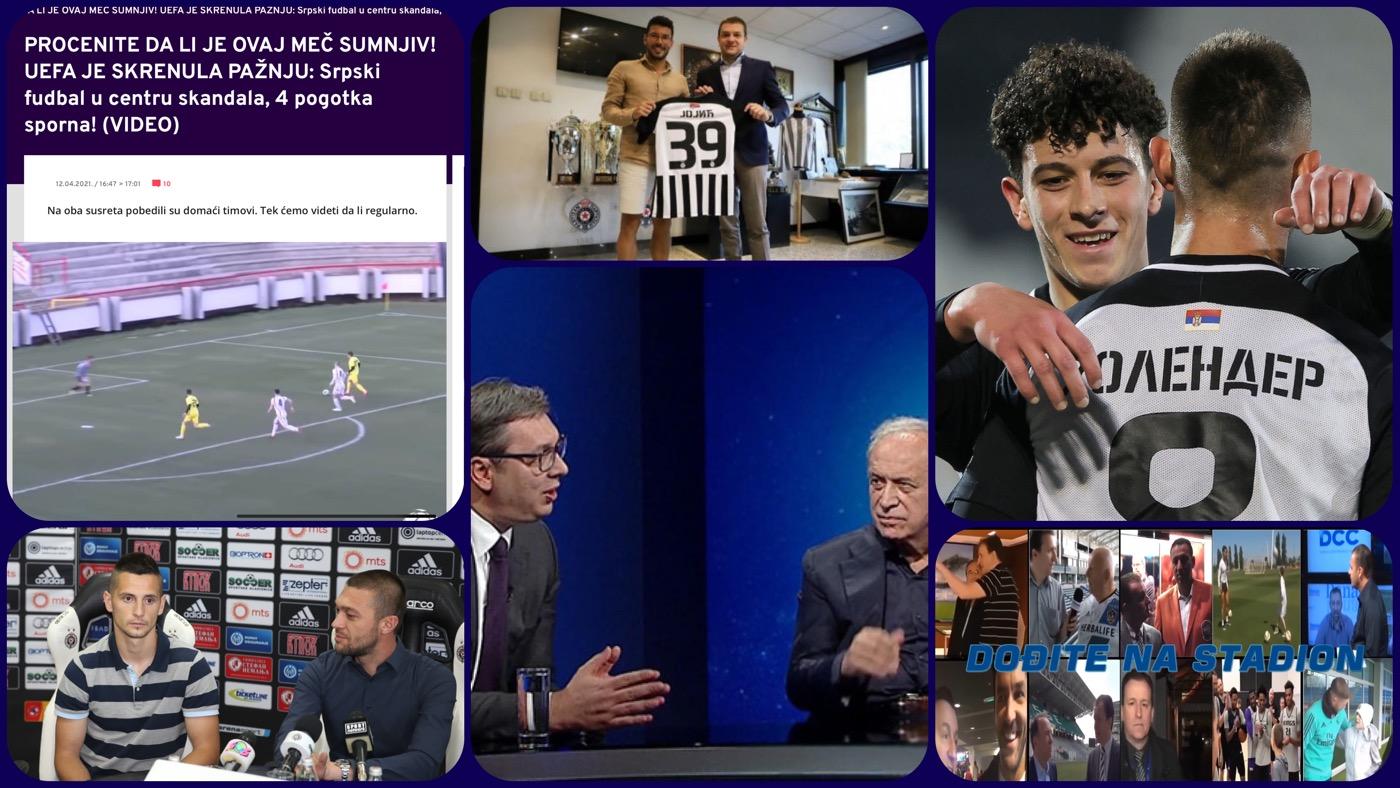 Dođite na stadion 398: Pola Ling Longa pod istragom UEFA i dva volana u Partizanu (VIDEO)