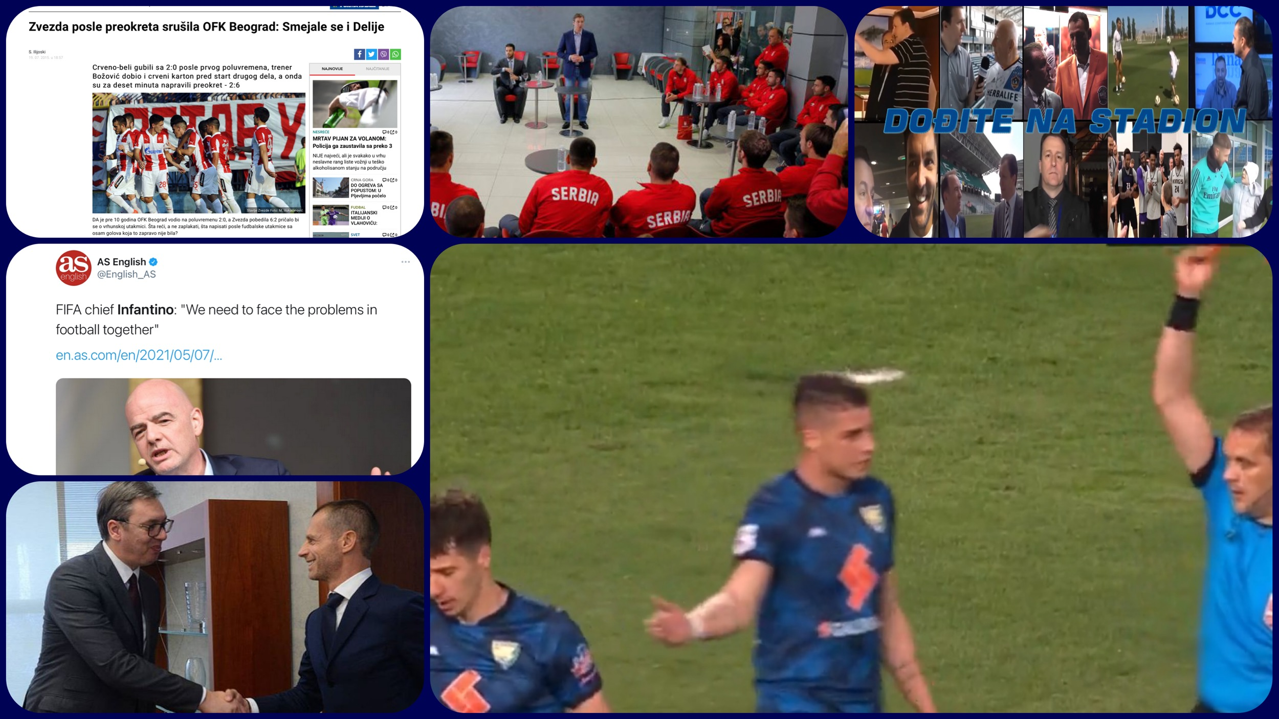 Dođite na stadion 410. Srbija centar kladioničarske mafije i FBI pred vratima UEFA (VIDEO)