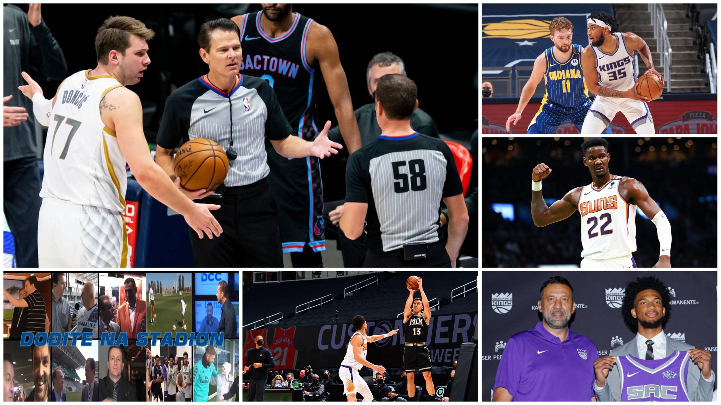 NBA Specijal: Rat sa NBA sudijama Luke Dončića i vaskrsenje Marvina Beglija (VIDEO)