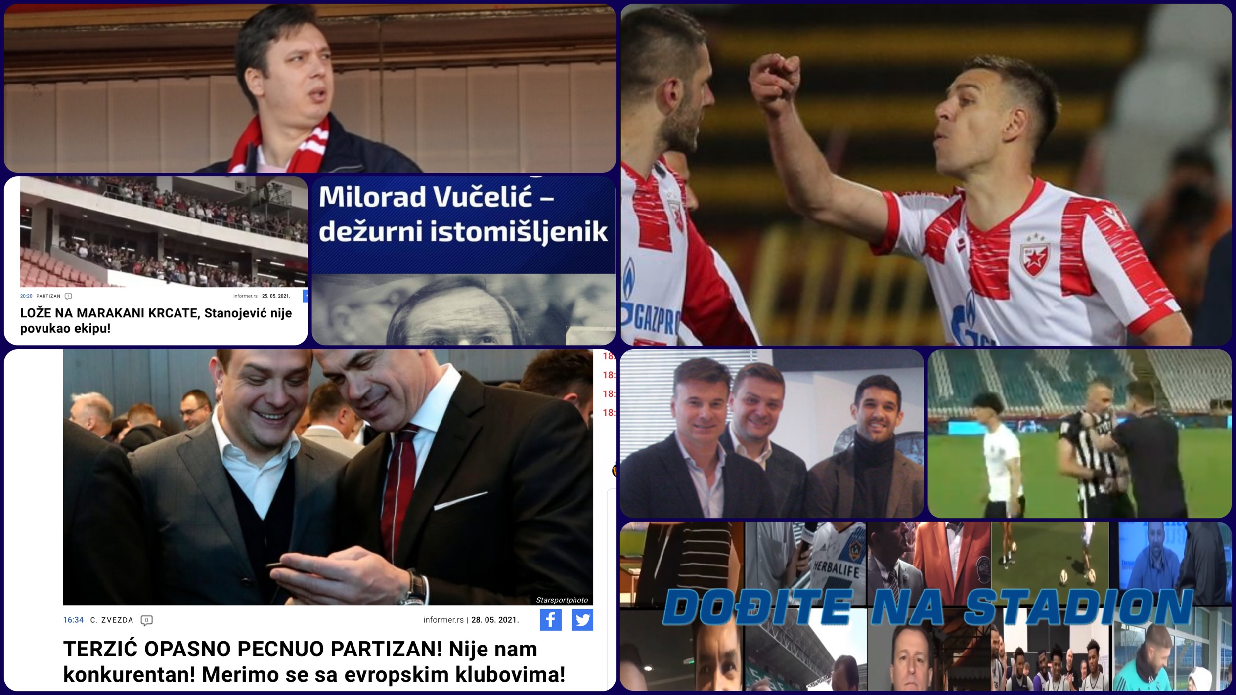 Dođite na stadion broj 419. Triplo golo nesmenjivog SNS trenera i Manitu doktora Terzića…(VIDEO)