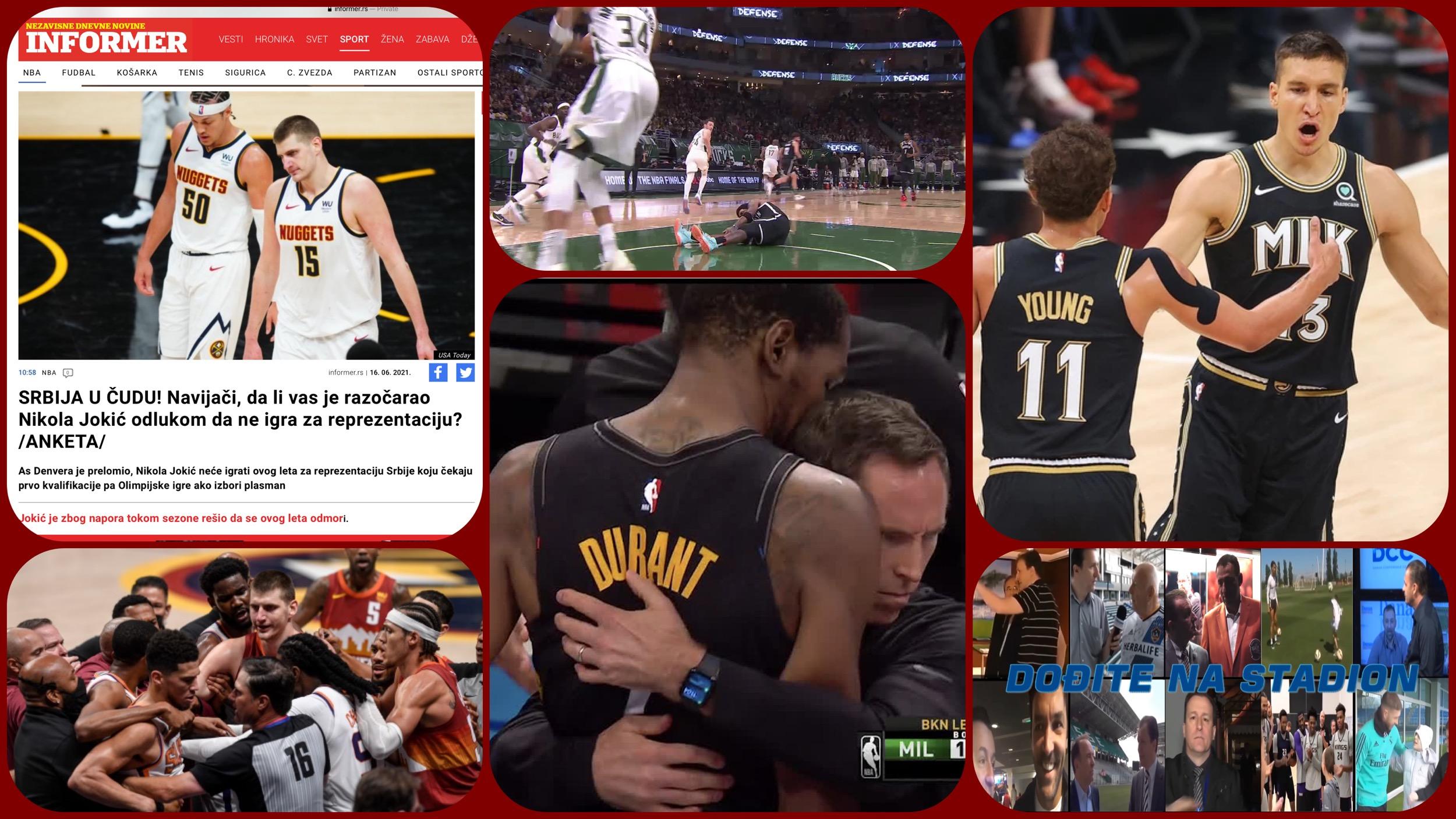 NBA Specijal. Sezona povreda, besmislena Olimpijada i patriotizam Nikole Jokića… (VIDEO)