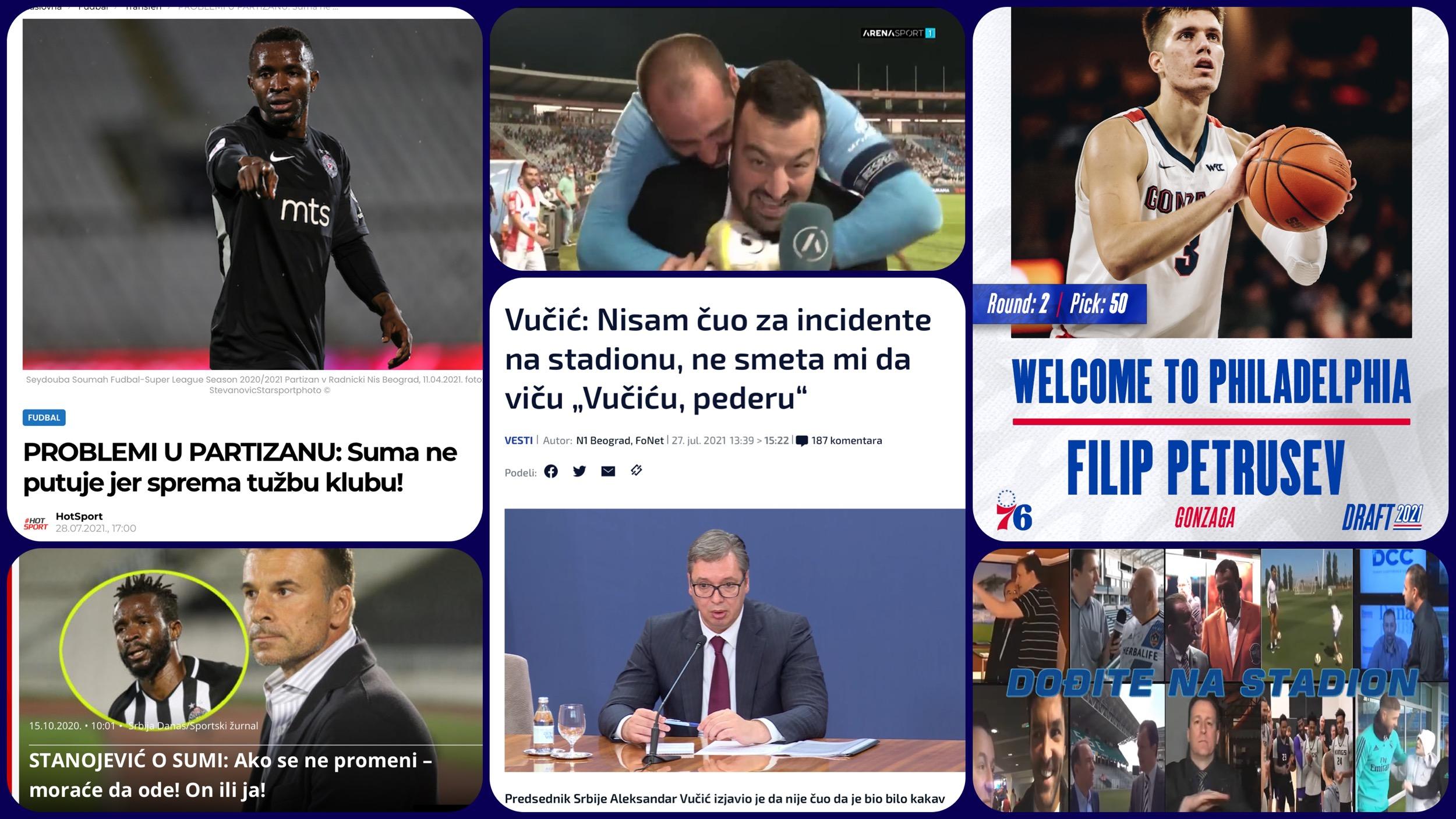 Željko Pantić: Dođite na stadion 445. Jahanje uživo, neobavešteni Vučić i Sumino bekstvo iz Šošenka (VIDEO)
