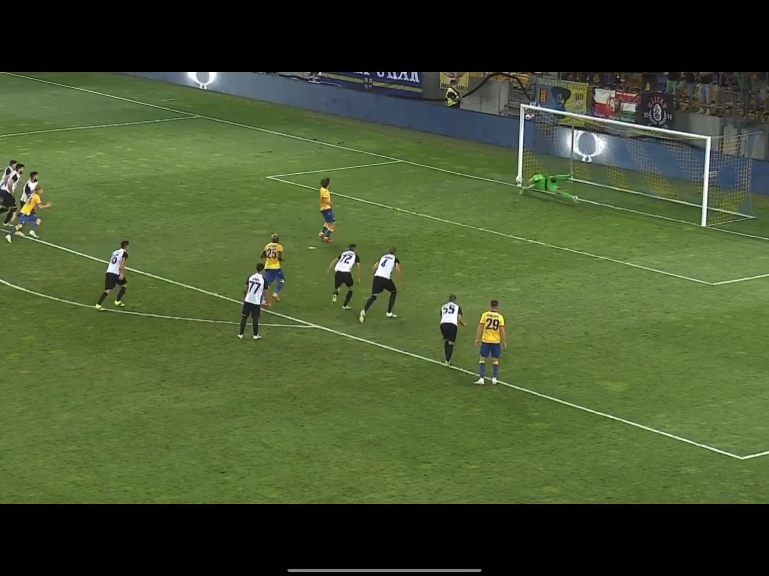 TV Izveštaj: Dunajska Streda-Partizan 0:2. Spasilac Popović sprečio nepotrebnu dramu (VIDEO)