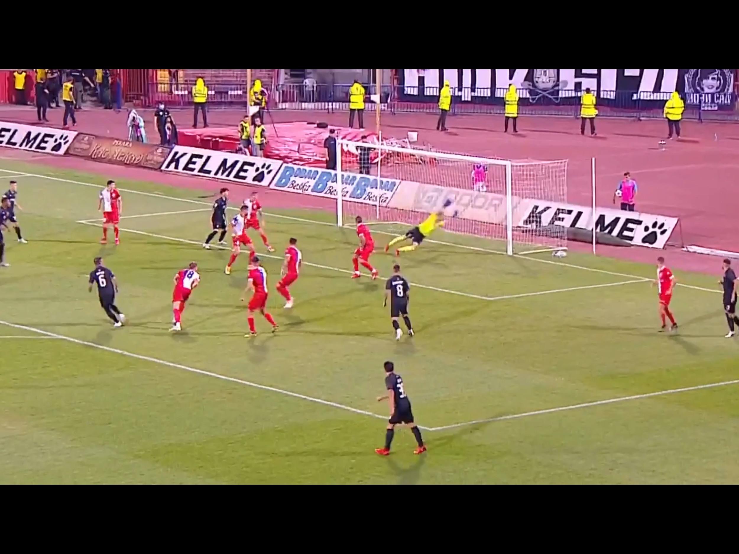 Izveštaj: Vojvodina-Partizan 0:2. Dva brutalna gola Natka za rutinsku pobedu Partizana (VIDEO)