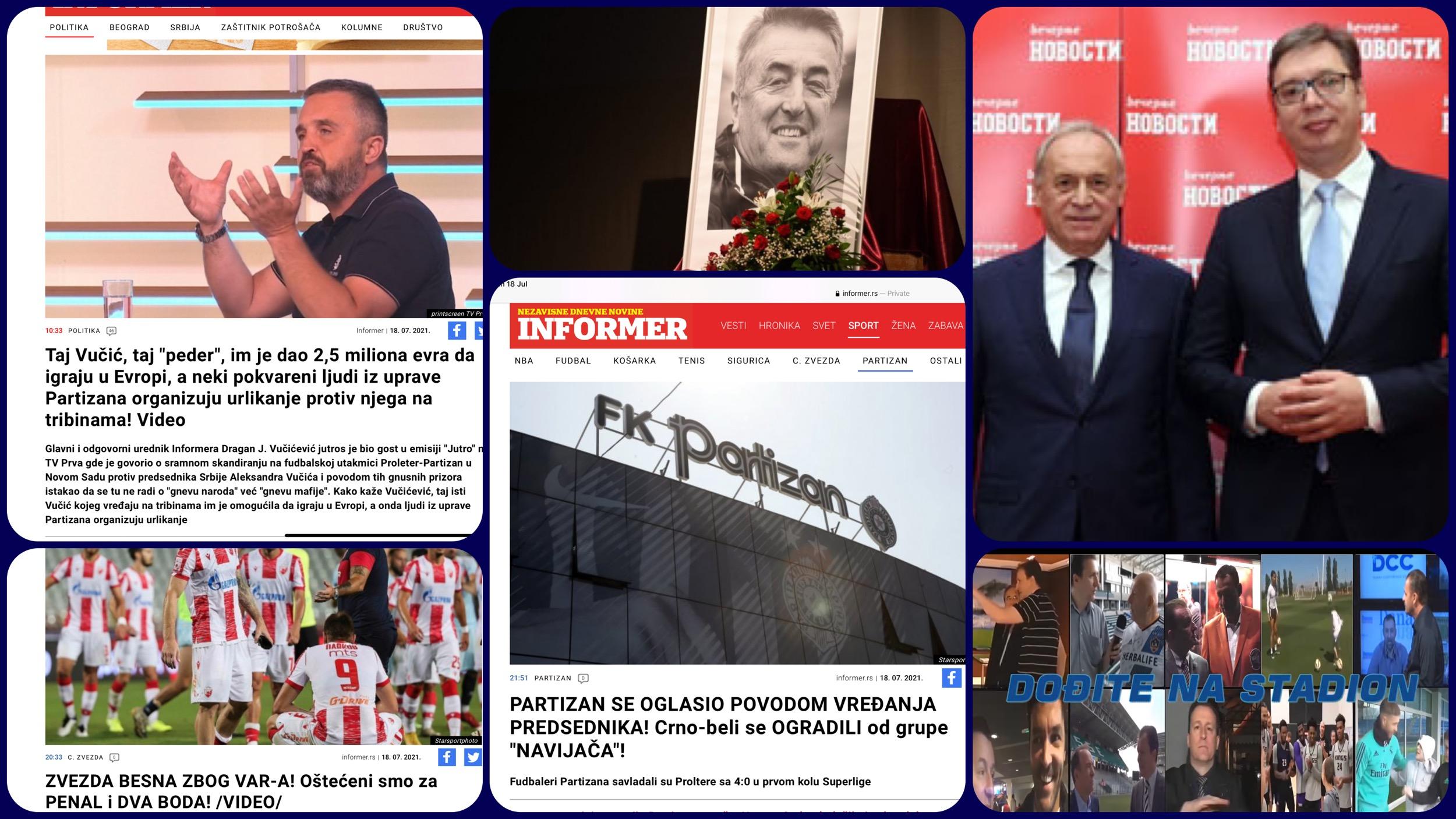 Željko Pantić: Dođite na stadion 441. Nezahvalni navijači Partizana i odbrana Vučića šećera…(VIDEO)