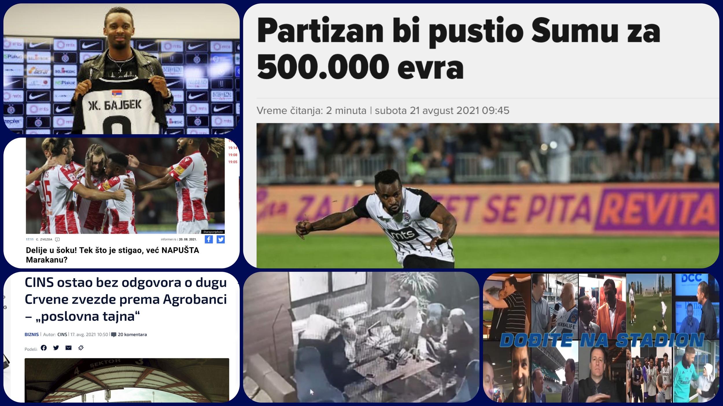 Željko Pantić: Dođite na stadion 451. Guranje Sume u Crvenu zvezdu i Srbija kao bure baruta… (VIDEO)
