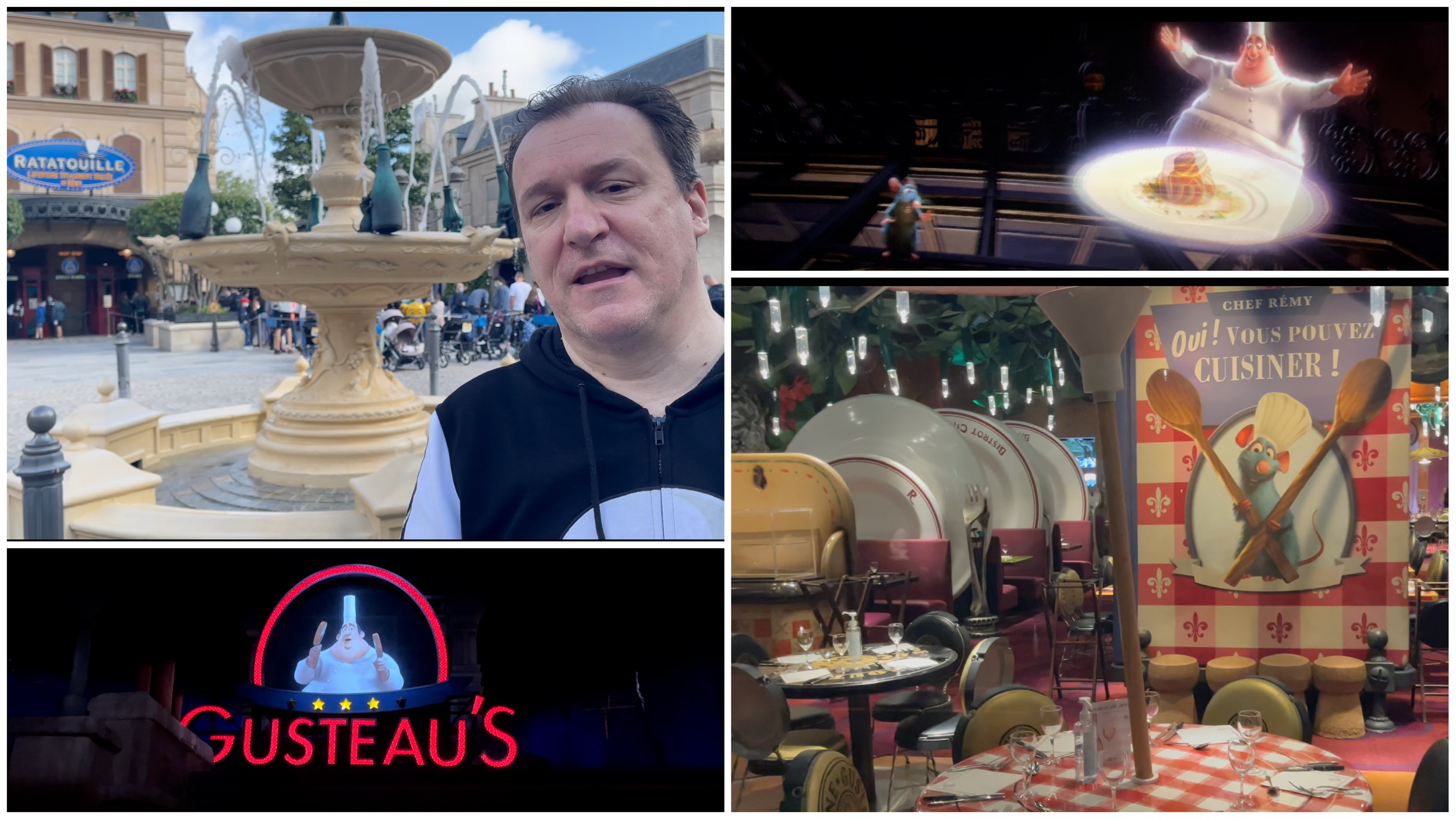 Željko Pantić: Specijal Disneyland Paris. Specijalna 4D vožnja i kvart posvećen filmu Ratatouille (VIDEO)
