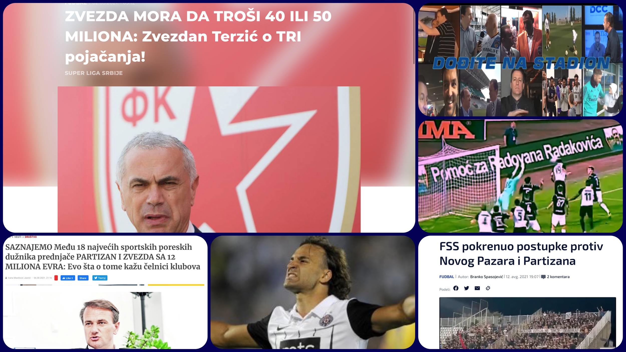 Željko Pantić: Dođite na stadion 448. Pražnjenje stadiona Partizana i gravitacija za doktora Terzića (VIDEO)