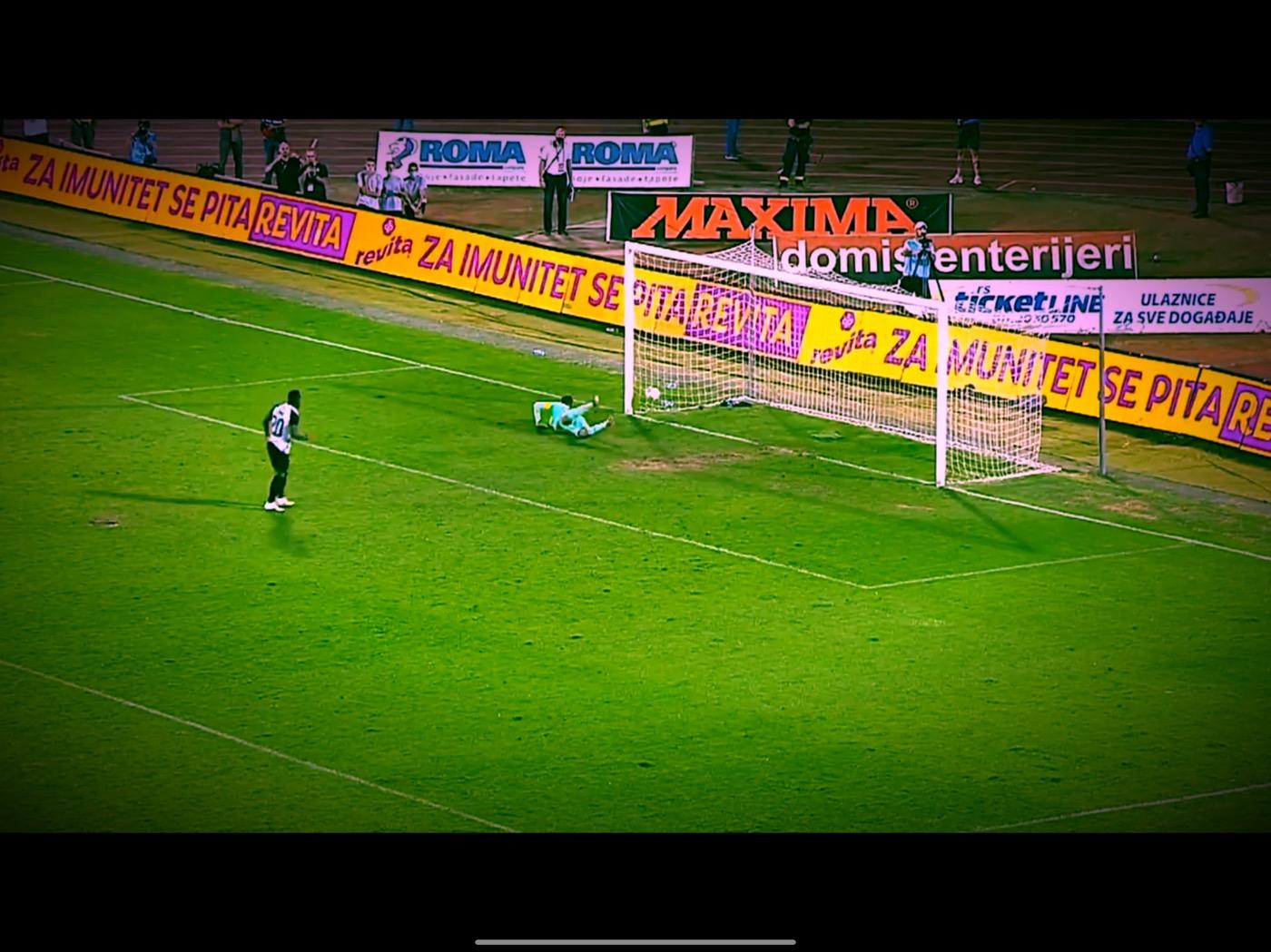 TV Izveštaj: Partizan-Soči 2:2 (4:2) Srećni rimejk penala Pjera Boje i Božja milost koja je spasila Partizan (VIDEO)