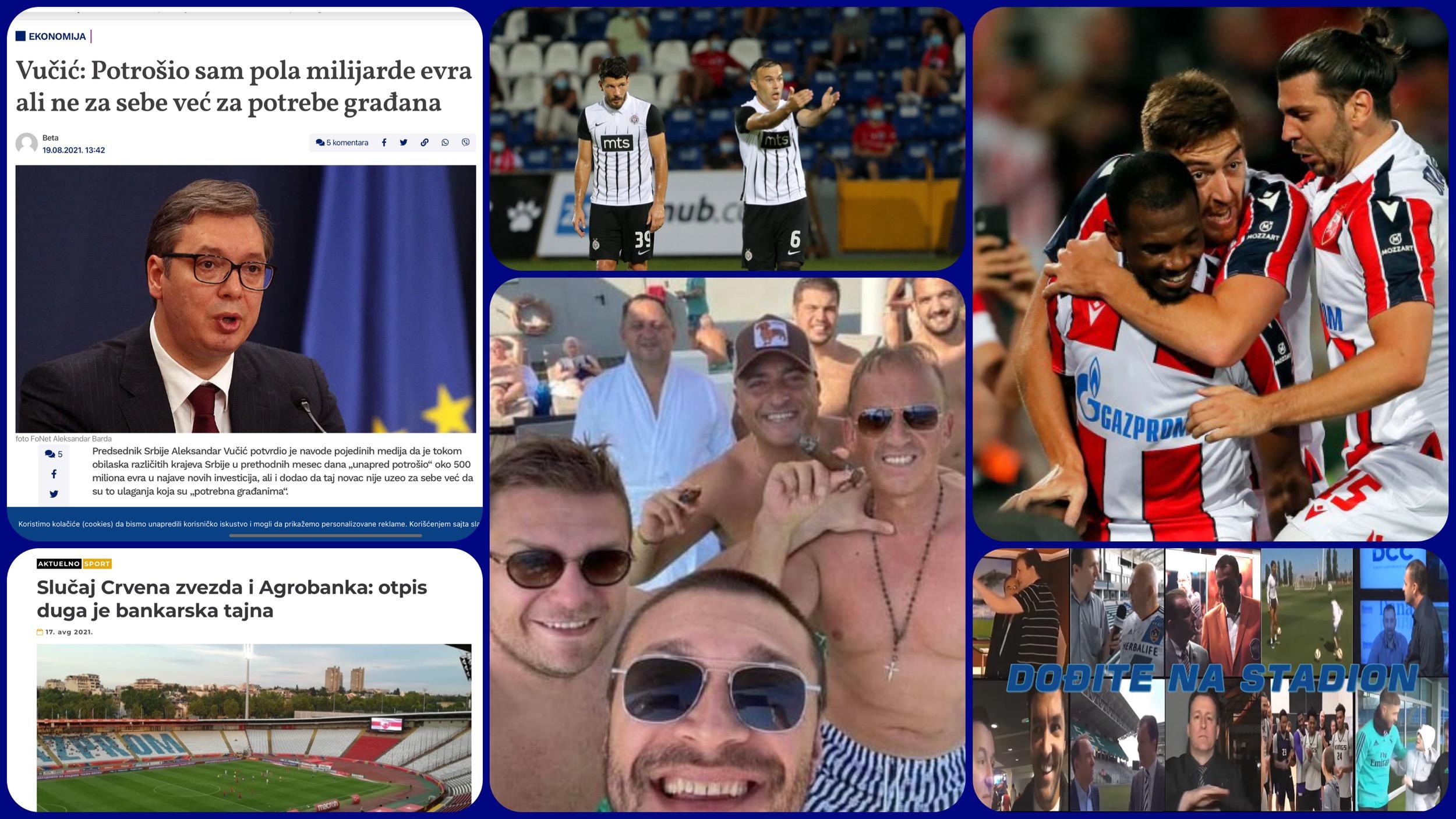 Željko Pantić: Dođite na stadion 450. Pola milijarde za slučajne prolaznike i veselje Miloša Vazure (VIDEO)