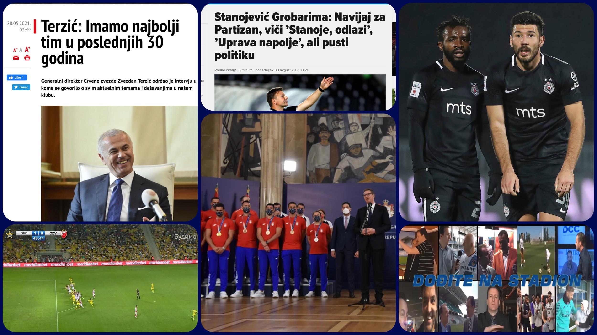 Željko Pantić: Dođite na stadion 447. Šerif iz ofsajda i Vučićev vaterpolo uspeh… (VIDEO)