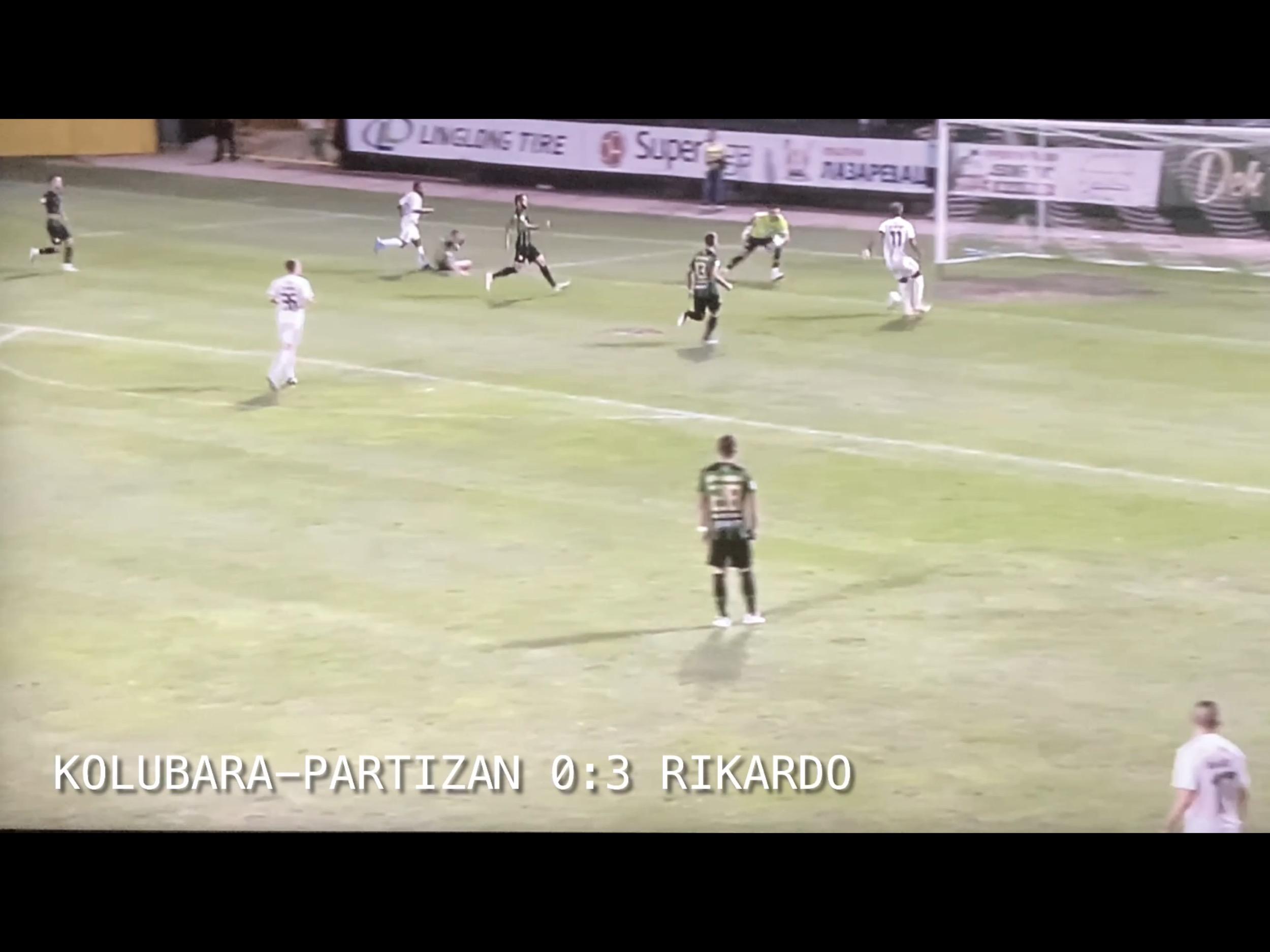 Izveštaj: Kolubara-Partizan 0:4. Umorni Partizan pregazio plitku Kolubaru…(VIDEO)