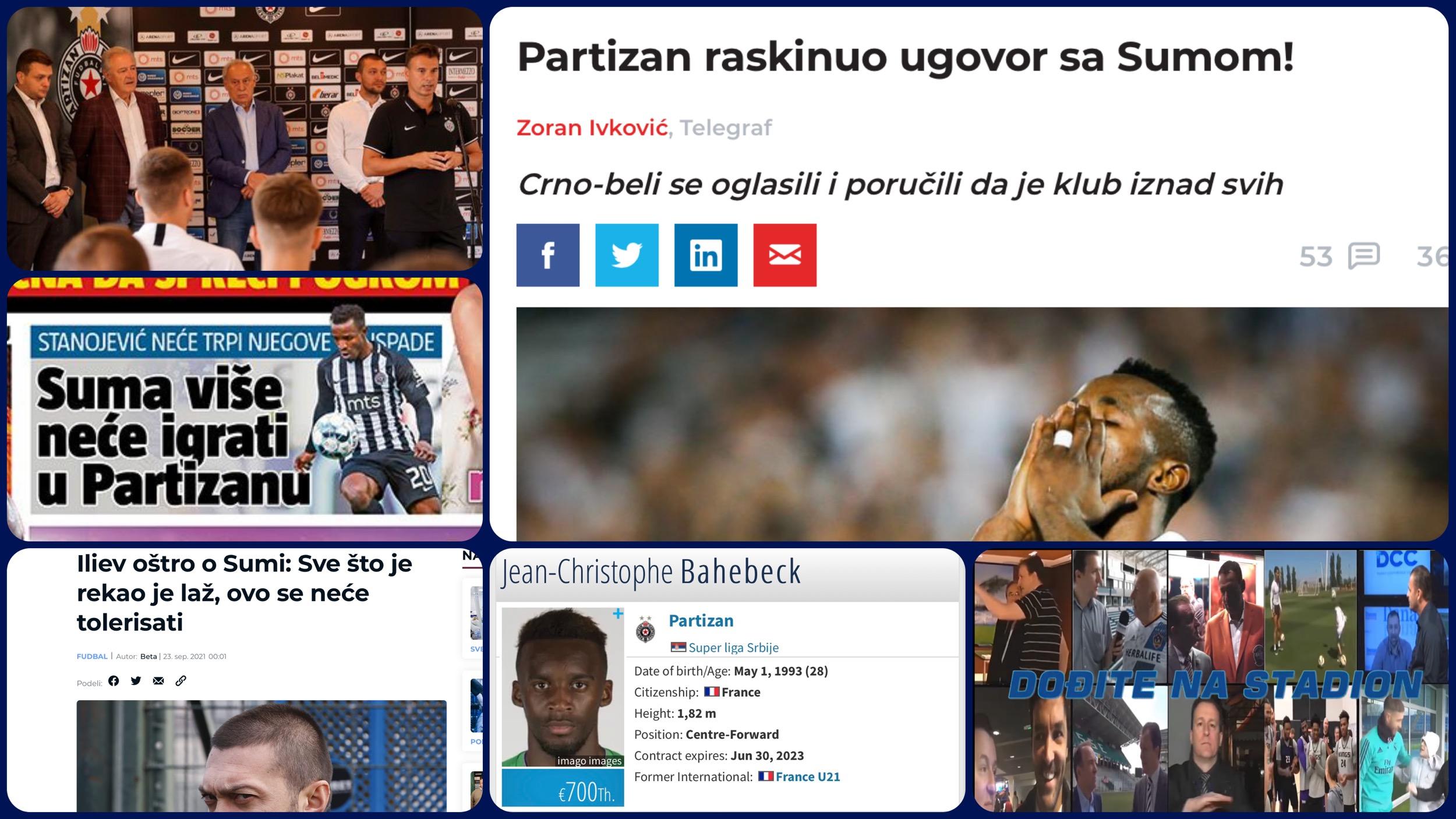Željko Pantić: Dođite na stadion 463. Partizan na pravom putu u ambis i Suma na putu u Crvenu zvezdu…(VIDEO)
