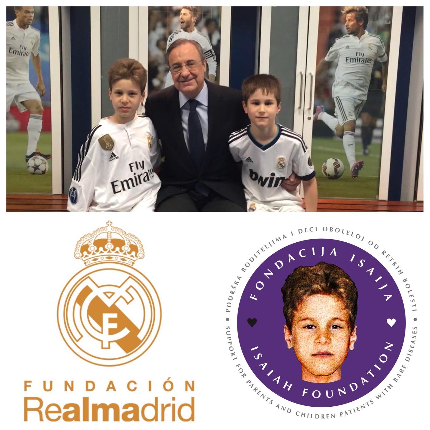 Fondacija Real Madrid je novi partner Fondacije Isaija!