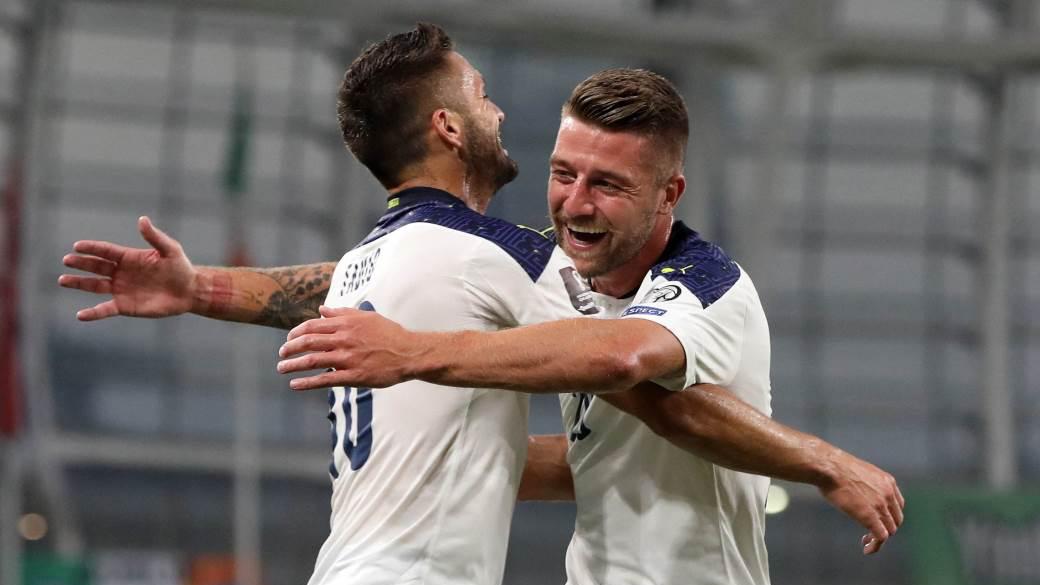 OCENE: Irska-Srbija 1:1. Srbija prosula zasluženu pobedu, Sergej od junaka do tragičara