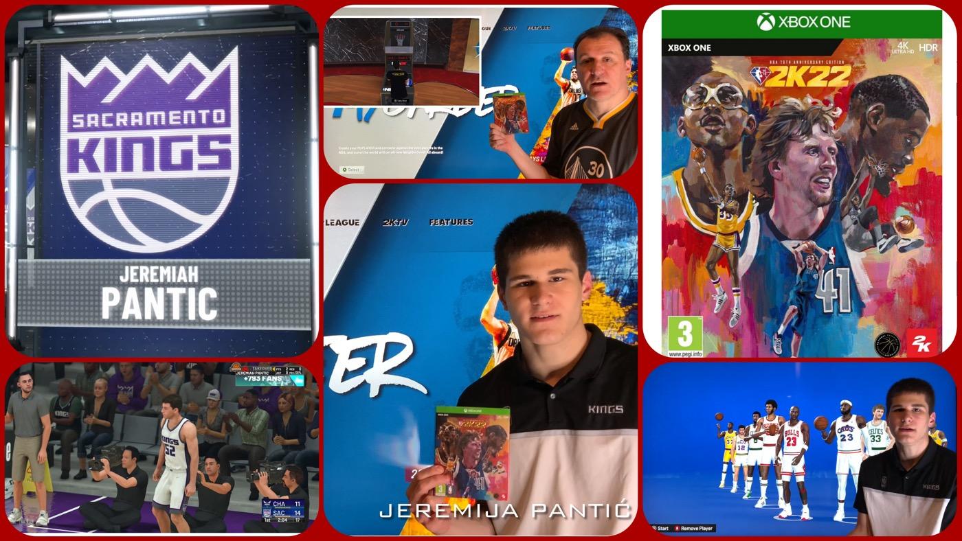 DCC Recenzija: NBA 2K22 NBA 75th Anniversary Edition (VIDEO)
