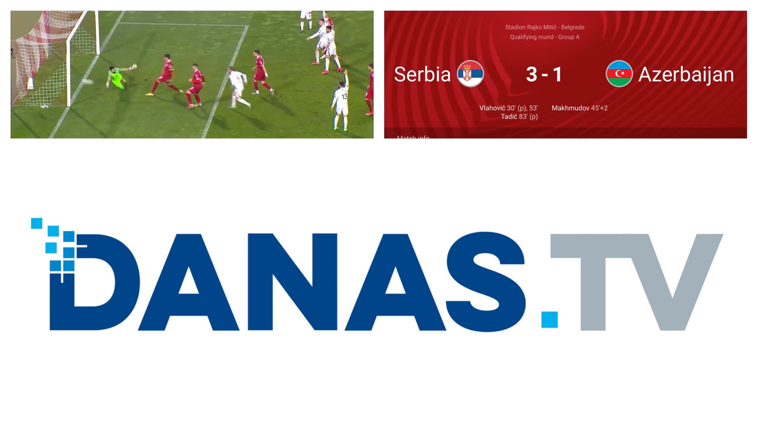 OCENE: Srbija-Azerbejdžan 3:1. Silni Vlahović nosio Srbiju do zaslužene pobede…(VIDEO)