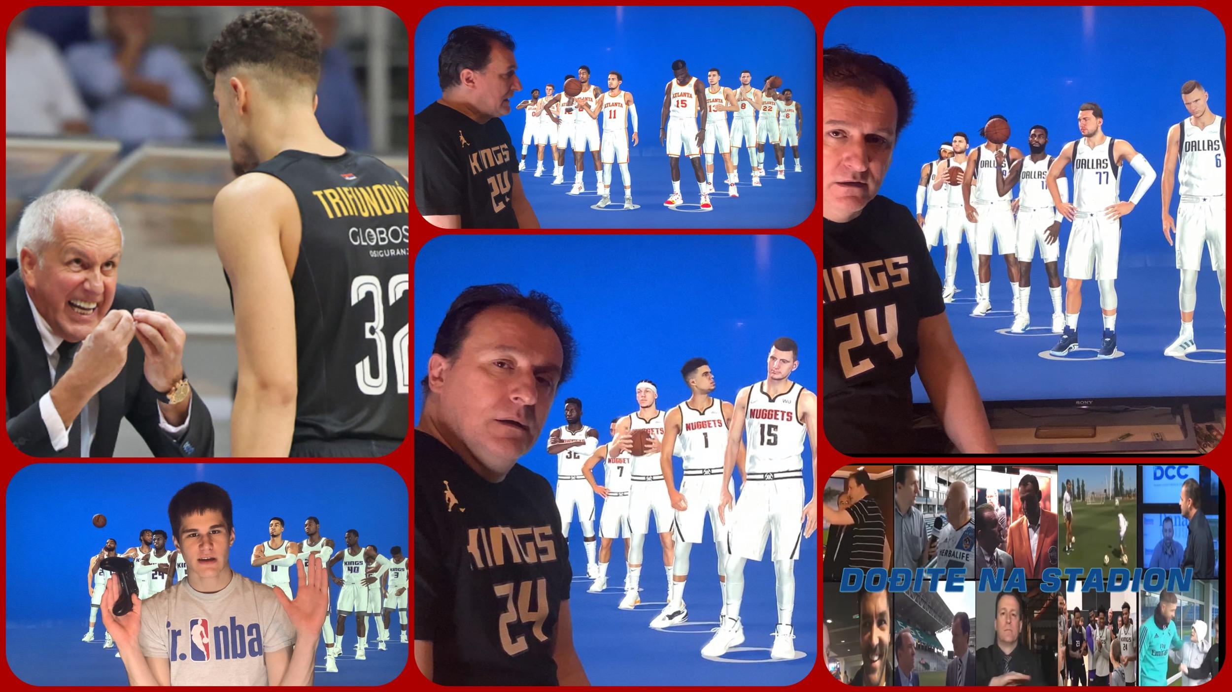 Željko Pantić: NBA Europe Specijal-Partizanov Rebuild i predstavljanje rostera svih 30 NBA timova…(VIDEO)